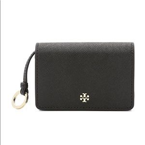 Tory Burch York Foldable Key Case Wallet